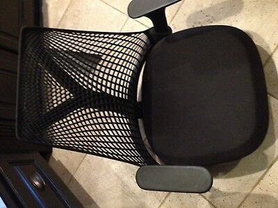 Sayl Chair By Herman Miller Black - No base