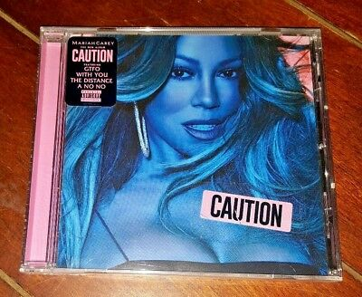 Caution by Mariah Carey (CD, 2018, Epic)
