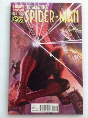 The Amazing Spider-Man#1•color 1:75 Marvel Variant Edition By Alex Ross•75Years
