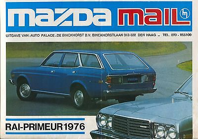 Mazda Mail Range Paper 1000/1300/1600/929S/818S/616 Dutch 1976