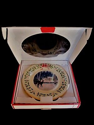 2018 Lenox Christmas Plate - 28th in the Series - NIB