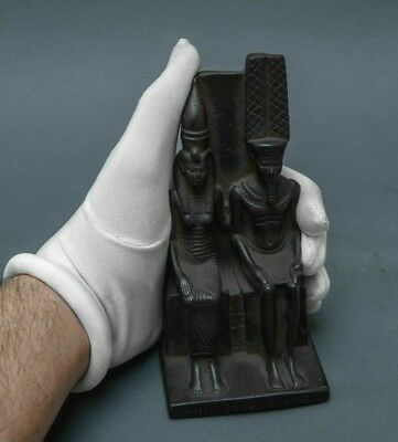 ANCIENT EGYPTIAN ANTIQUES Pharaoh EGYPT STATUE Tuthmosis Iii Black Stone 1479 BC