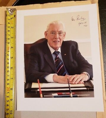 Ian paisley Signed inscribed 8X10