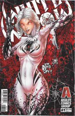 White Widow # 1 Jamie Tyndall Red Foil Variant Cover Edition !!  Nm