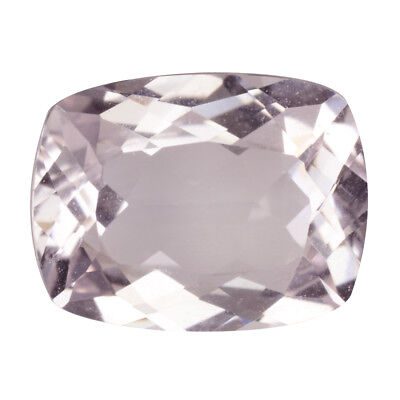 1.74Ct Excellent Cushion cut 9 x 7 mm 100% Natural Pink Morganite