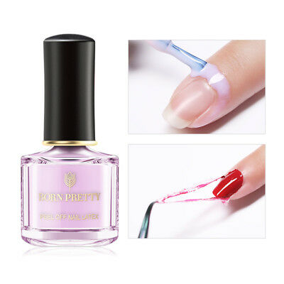 BORN PRETTY 6ml Peel Off Nail Latex Odorless Moisturizing Anti-overflow Glue
