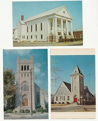 Bethany, Bethesda, SALEM Methodist Churches of Maryland 1950s Tingle Printing Co