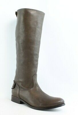 97508ad9175 NEW FRYE WOMENS Melissa Button Back Zip Gray Riding