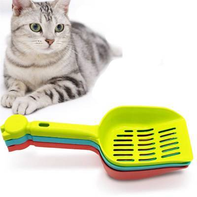 Plastic Litter Scoop Litter Box Cleaning Tool Cat Sand Waste Scooper Shovel Pet
