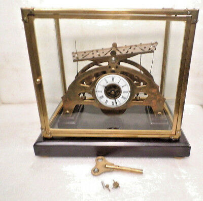 RARE Table Top Congreve Rolling Ball Clock With Single Dial---BALL ALWAYS MOVING