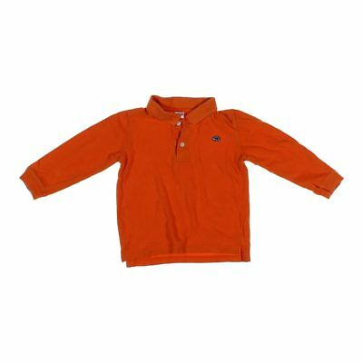 Old Navy Boys Polo Shirt, size 4/4T,  orange,  cotton