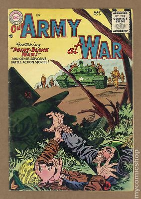 Our Army at War #34 1955 GD 2.0