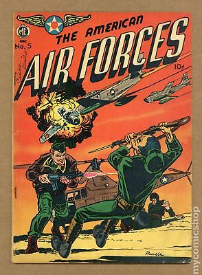 American Air Forces #5 1951 GD+ 2.5