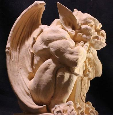 OLD STYLE MEDIEVAL GARGOYLE #1 Demon Protector stone statue