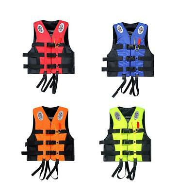 Safety Life Jacket Survival Vest Swimming Boating Fishing Drift Enclosed 2XL 3XL