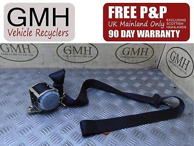Ford Fiesta Mk6 Left Passenger Nearside Rear Seat Belt 2s5a B61295 Ab 2002-2008♪