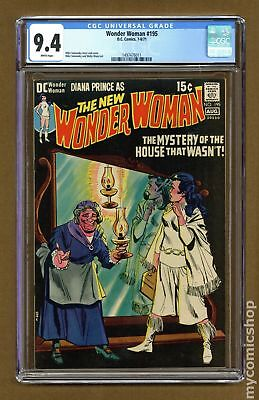 Wonder Woman (1st Series DC) #195 1971 CGC 9.4 1497476011
