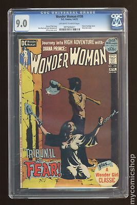 Wonder Woman (1st Series DC) #199 1972 CGC 9.0 0975836011