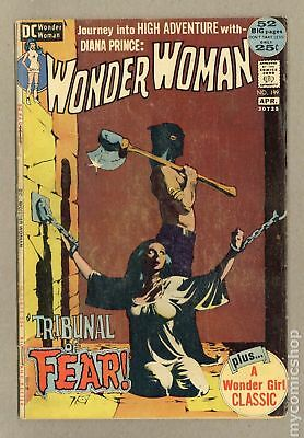 Wonder Woman (1st Series DC) #199 1972 GD/VG 3.0
