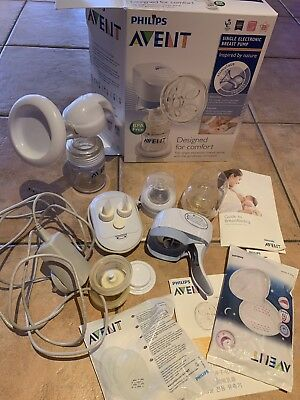 Avent Single Electric/Manual Pump