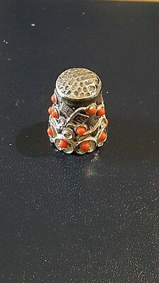 Sterling Silver Thimble Mexico
