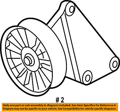 Mercedes Mercedes Benz Oem E350 Serpentine Drive Belt Idler Pulley