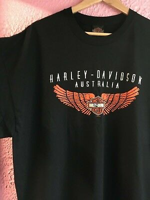 Genuine mens Harley Davidson t-shirt Tee XXL Rockabilly. Biker. Size 2XL