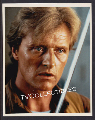 8x10 Photo~ Actor RUTGER HAUER ~Color Close-up ~of Blade Runner ~The Hitcher