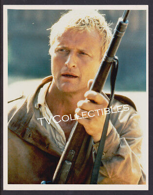 8x10 Photo~ Actor RUTGER HAUER ~Color with Rifle ~of Blade Runner ~The Hitcher