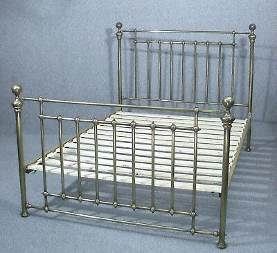 Beautiful Victorian Style Brass Double Bed