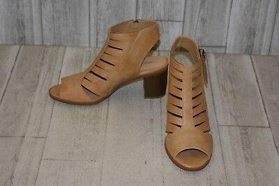 65cfa43bd1a FRYE DANI SHIELD Sling Suede Sandals Women s Size 7.5 M Dark Taupe ...