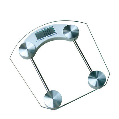 Glass Electronic Digital Bathroom Body Scale Weight Control 180kg