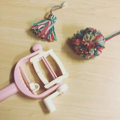Daiso Handicraft Tools -POM POM & TASSEL- ROLLING MAKER From Japan