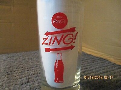 """Coca-Cola,RedLetters,Collectibles,Advertisement,HomeDecor,Drinks,Kitchen,""""ZING"""""""