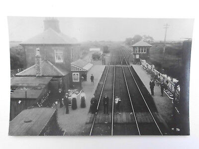 Caledonian Railway Bowness Station Looking South 1913 photograph