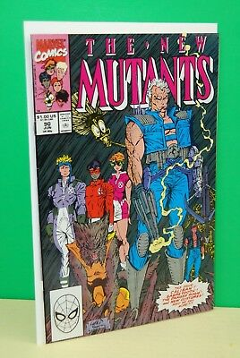 THE NEW MUTANTS #90  MARVEL 1990 CABLE APPEARANCE ROB LIEFELD ART Unread NM
