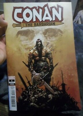 CONAN The BARBARIAN # 1 1:25 ZAFFINO VARIANT Cover Marvel NM-M