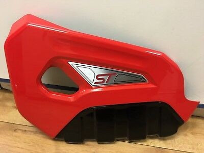 Ford Fiesta ST180 Painted Engine Cover - Molten Orange