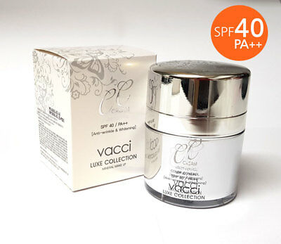 [VACCI] Luxe Collection CC Cream SPF40 PA++ 50ml /Anti-winkle, Whitening /KOREA