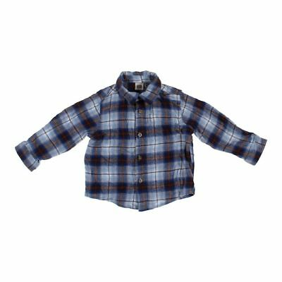Faded Glory Boys Shirt, size 3/3T,  blue/navy,  cotton