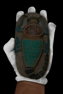ANCIENT EGYPTIAN SCORPION ANTIQUES Goddess Stela Stone EGYPT Middle Kingdom BC