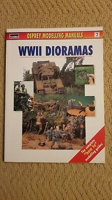 Osprey modelling manuals: WWII dioramas. by Jerry Scutts (Paperback)