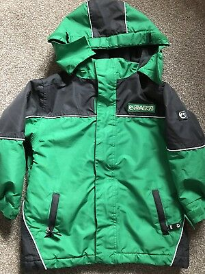 e1aac8fbe TRESPASS BOYS JACKET age 5-6 years waterproof in good used condition ...