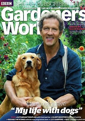BBC Gardeners World October 2016  ~ Special Subscriber's Edition