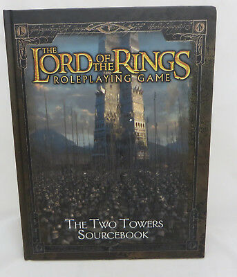 The Lord of the Rings Roleplaying Two Towers Source book h/ cover minty decipher