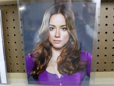 Autograph 8 x 10 Photo Chloe Bennet Daisy From Agents of SHIELD with COA