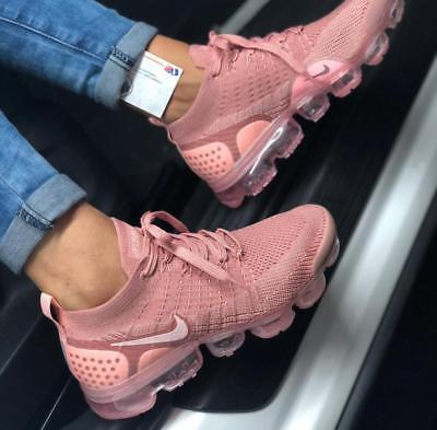 f401d97ede6 NEW NIKE AIR VaporMax FLYKNIT 2 Women s Shoes Rust Pink EU 36-39 942843-600  - EUR 129