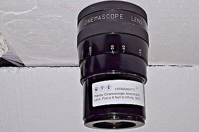 Westar Compact 35mm  Anamorphic Lens for Cine Projection