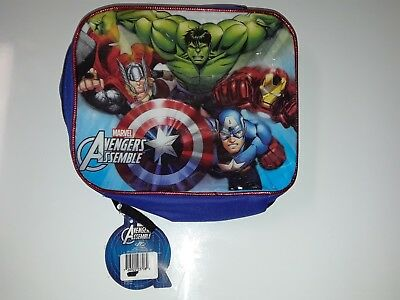 Insulated Kids Lunch Bag Disney Marvel Avengers new with tags same day shipping