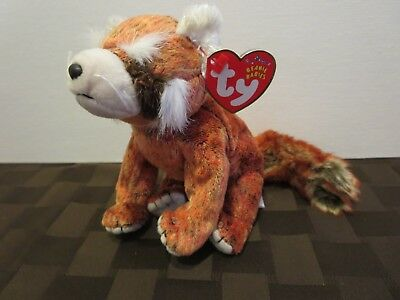 5ad6efcd22d TY BEANIE BABY RUSTY the Red Panda w  tags -  5.99